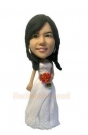 Bridesmaid Custom Bobblehead-2