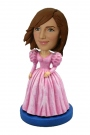 Barbie Dress Bobble Head Doll
