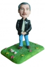 Boss in Jacket Bobblehead