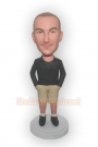 Casual Man With Shorts Bobblehead