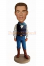 Cowboy Bobble Head Doll