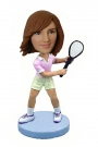 Female Tennis Star Bobblehead