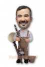 Fisherman Custom Bobblehead