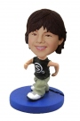 Hiphop Boy Custom Bobbleheads
