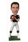 Quarterback Football Player Bobblehead