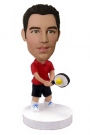 Male Tennis Player Bobblehead