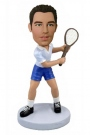 Male Tennis Star Bobblehead